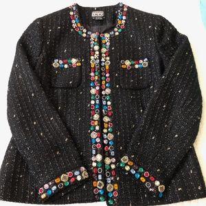 Berek Jeweled Trim Jacket - XL